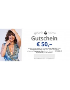 Voucher € 50,- (free shipping)