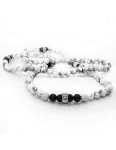 White Yin-Yang-Necklace